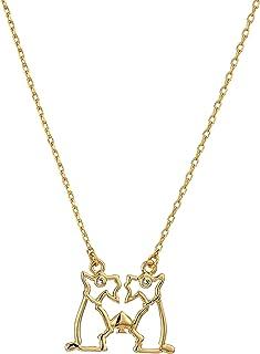 Kate Spade New York Womens Celestial Charm Gemini Necklace