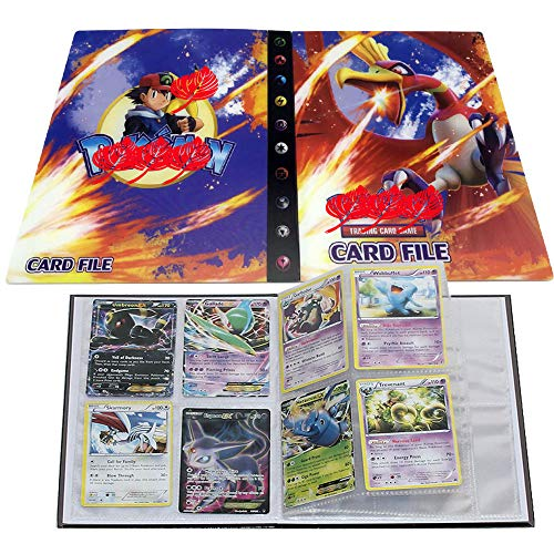 Card Album for Pokemon, Card Holder, Binder Cards Album Book Best Protection Trading Cards /GX EX Box/Put up to 240 Cards(Ho-Oh)