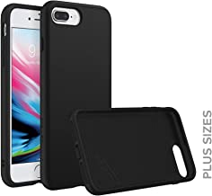 RhinoShield Case for iPhone 8 Plus/iPhone 7 Plus [SolidSuit]   Shock Absorbent Slim Design Protective Cover [3.5 M / 11ft Drop Protection] - Classic Black
