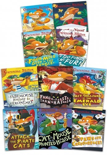 Geronimo Stilton Starter Pack, Books 1-10
