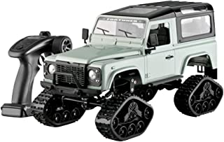 Toysgift RC Military Truck Jeep Car Toy for Kid Boy -1:16 2.4GHz 4WD Remote Control Car Electric Off Road Military RC Vehicle with 2 Kinds Tire,Shipping from CA.,NJ.