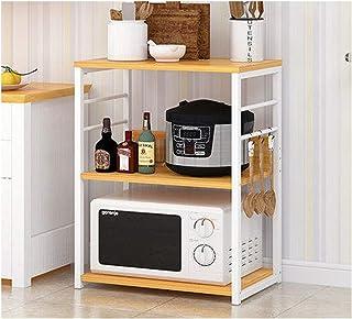 KOKOF Étagères, armoires, étagères de cuisine, grilles de four à micro-ondes, étagères d'assaisonnement, étagères de planc...