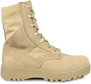 MCRAE Army Combat Boots Hot Weather 9W Tan