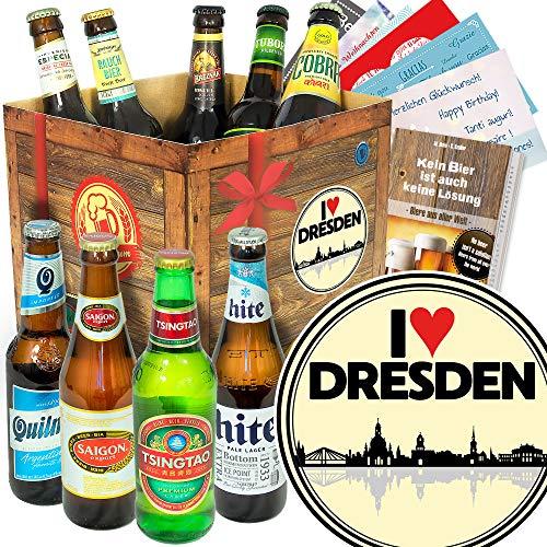 I love Dresden - Biere Welt - Geburtstagsüberraschung Dresden