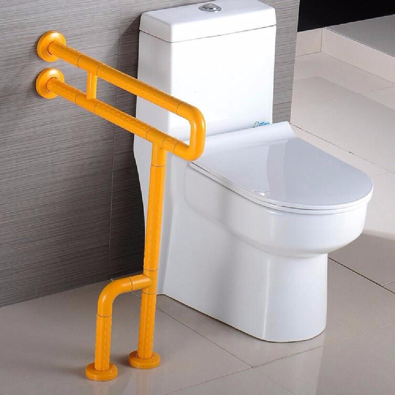 WAWZJ Handrail Toilet Bar Handrail Elderly Disabled Bathroom Safety Free Stainless Steel Antiskid Armrest,F