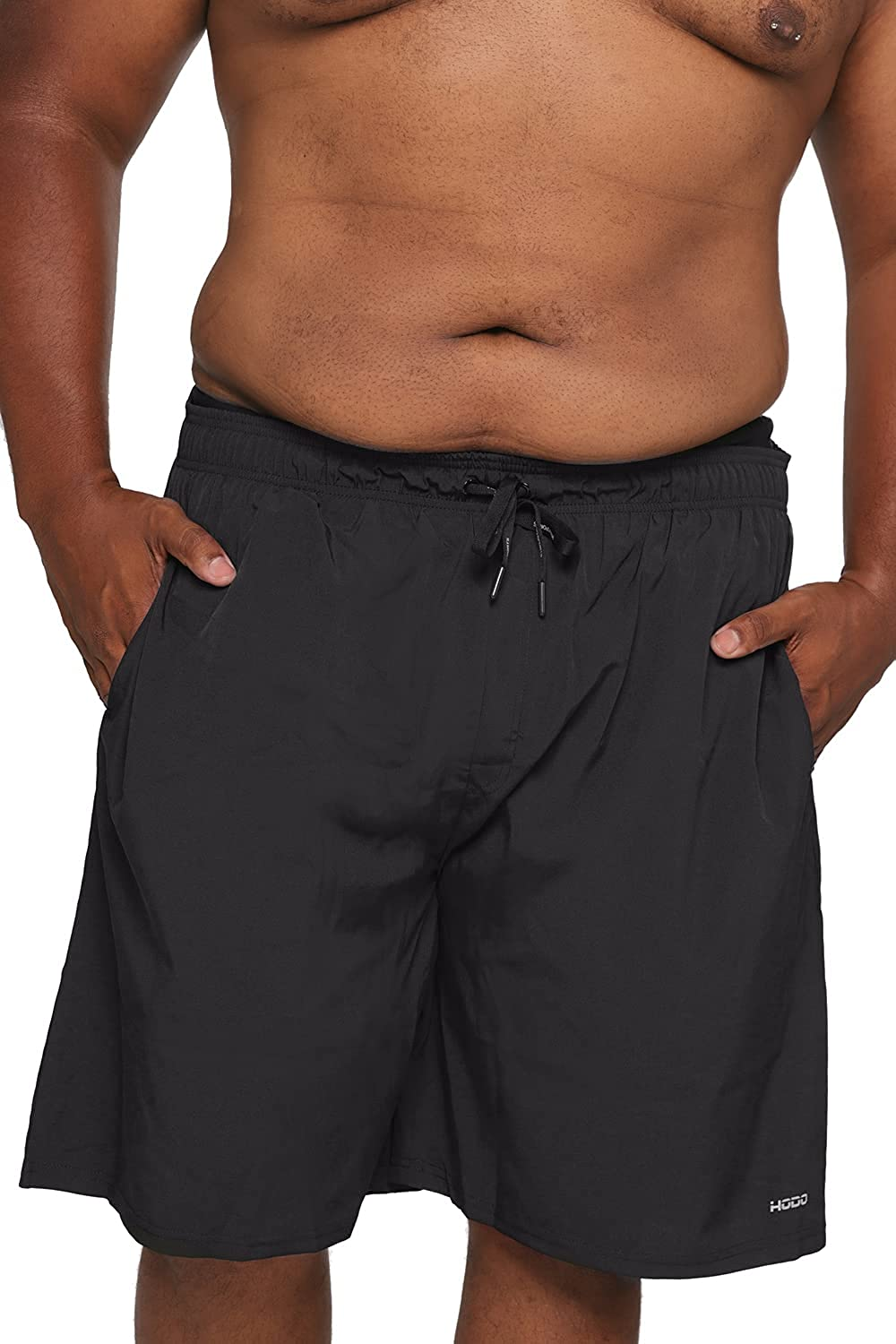 HOdo Men's Big and Tall Swim Trunks Extended Size 2XL-6XL