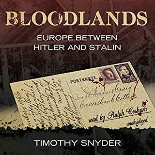 Bloodlands audiobook cover art