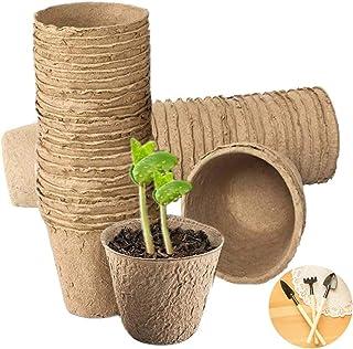 100 Pack Peat Pots for Seedling 3