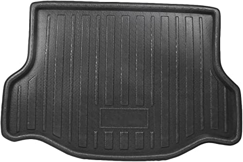 wholesale Mallofusa Cargo Liner Rear lowest Cargo Tray Trunk online Floor Mat Compatible for Toyota RAV4 2013 2014 2015 2016 2017 2018 Black outlet online sale