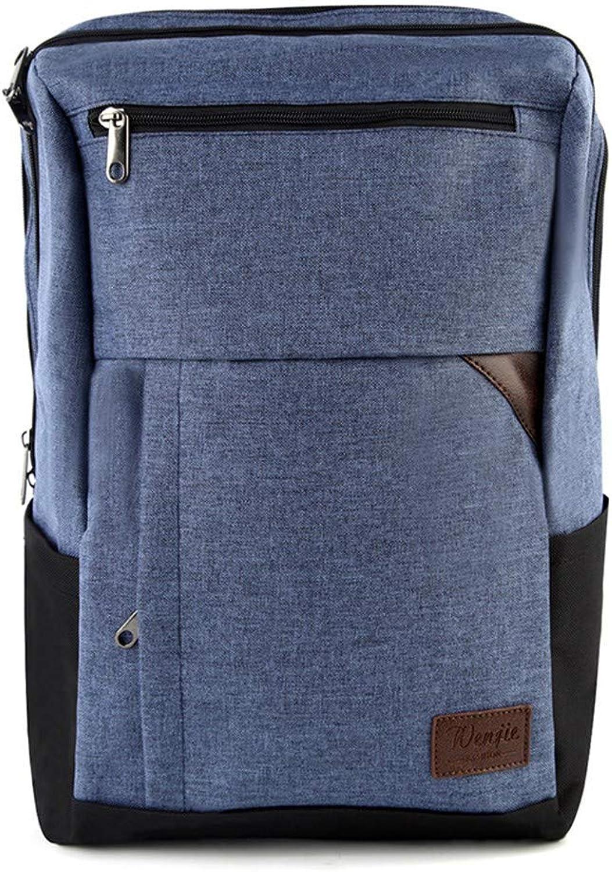 Casual Computer Business Rucksack Tasche für Herren, lssig, 43 × 29 × 13 cm, blau