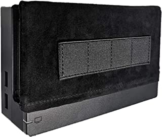 Jamont Switch Dock Sleeve Compatible with Nintendo Switch Dock Set,Switch Dock Socks Covers Switch HDMI Dock Station Skin, Switch Game Card Holder with 4 Cartridge Slots,Switch Game Storage,Soft