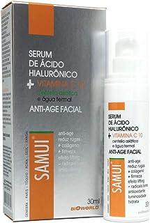Samui Serum Agua Termal Acido hialuronico creme redutor linhas de expressão vitamina C