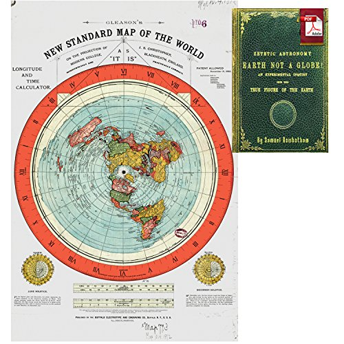 mapa tierra plana fabricante