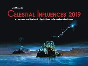 Celestial Influence 2019 Wall Calendar Eastern Time