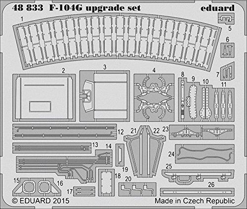 Eduard Photoetch 1:48 - F104G Upgrade Set (Eduard/Hasegawa)