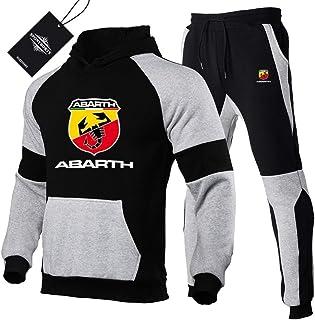 Martin Tute Sportiva Set per Ab-art.h.s Pullover Felpa con Cappuccio e Jogging Pantaloni Uomini e Donne Y. / Schwarz/XL