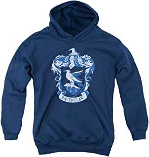 Harry Potter Ravenclaw Crest Youth Pull Over Hoodie Navy