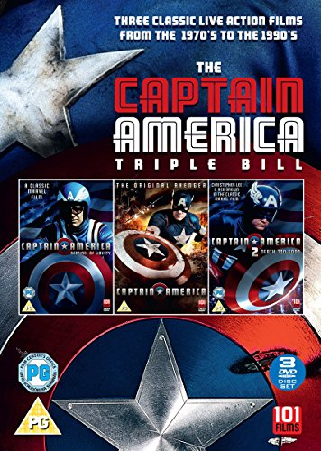 The Captain America Triple Bill (3 DVDs)