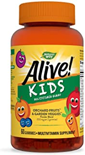 Alive Nature's Way Gummies 60's Multi-Vitamin for Children
