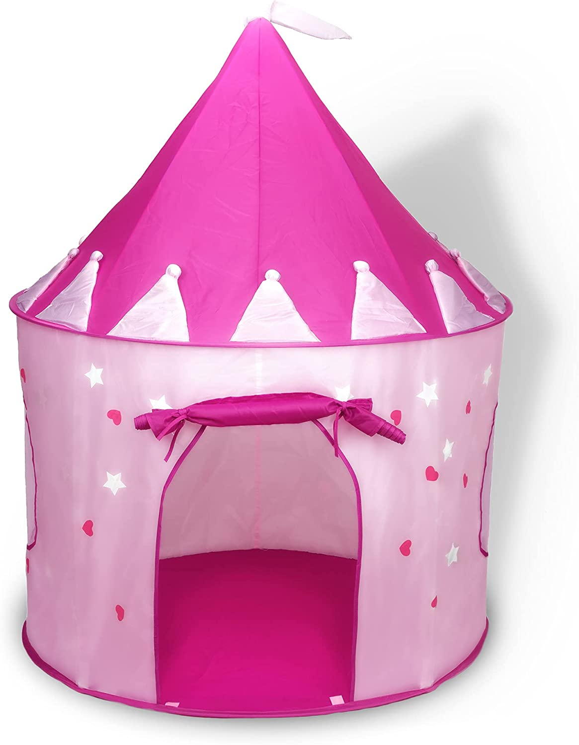 FoxPrint Princess Popular standard Castle Play Tent With The Dark In Glow Virginia Beach Mall Stars