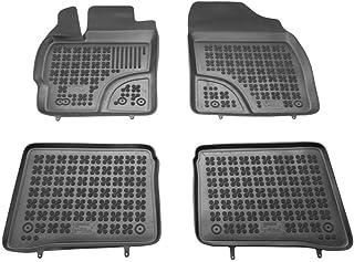 Car Lux AR04115 Alfombras Alfombrillas de goma a medida tipo cubeta 3D para Prius+