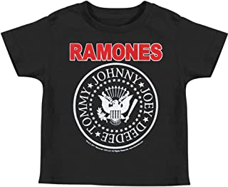 Ramones Boys' Childrens T-Shirt Black