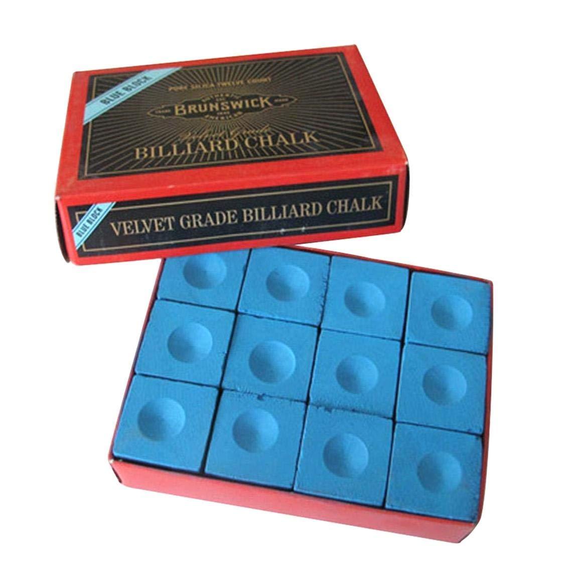 AYUN - Caja de Tiza para Tacos de Billar, Color Azul: Amazon.es: Hogar