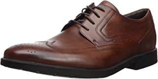 ROCKPORT Men's Dressports Business Wing Tip Shoe