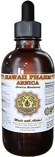 Arnica Liquid Extract, Organic Arnica (Arnica Montana) Dried Flowers Tincture 4 oz by HawaiiPharm