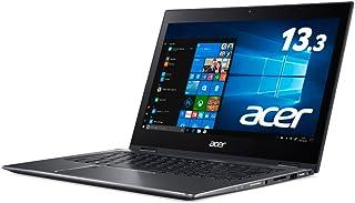 Acer ノートパソコン Spin 5 SP513-52N-N78U (Core i7/8GB/256GB SSD/ドライブなし/13.3型/Windows 10/スチールグレイ)