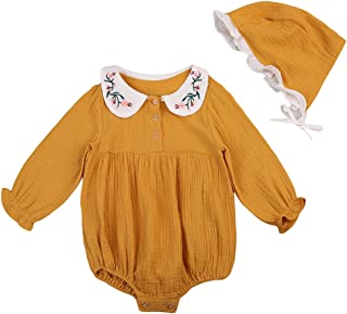 Best baby girl outfit with bonnet Reviews