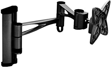 Black Full-Motion Tilt/Swivel/Rotation Wall Mount Bracket for AOC E2270SWN 22