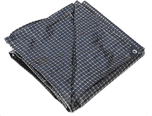 WKHQQ-Bache extérieure Bache imperméable épaisse, bache de Bateau de Camion, Usure de Couverture de poussière de Voiture, Plaid Noir et Blanc bache