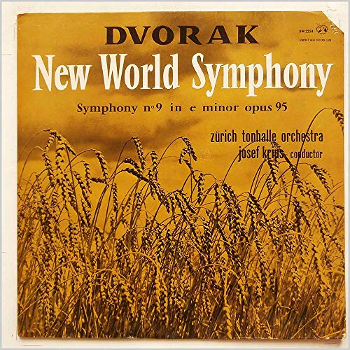 DM 2224 Dvorak New World Symphony ZTO Josef Krips