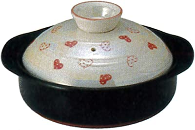 CtoC JAPAN Select 土鍋 ピンク 6号 19cm 0.9L 直火 電子レンジ オーブン 対応 26-13262/2-977568 萬古焼
