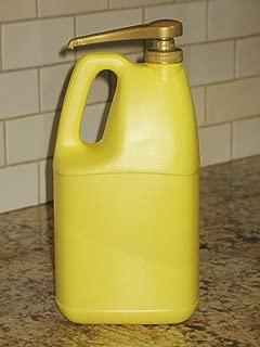 Oil Dispenser Pump for Gallon and 96 Oz. Bottles (Good for Most 1 Gallon Detergents Bottles)
