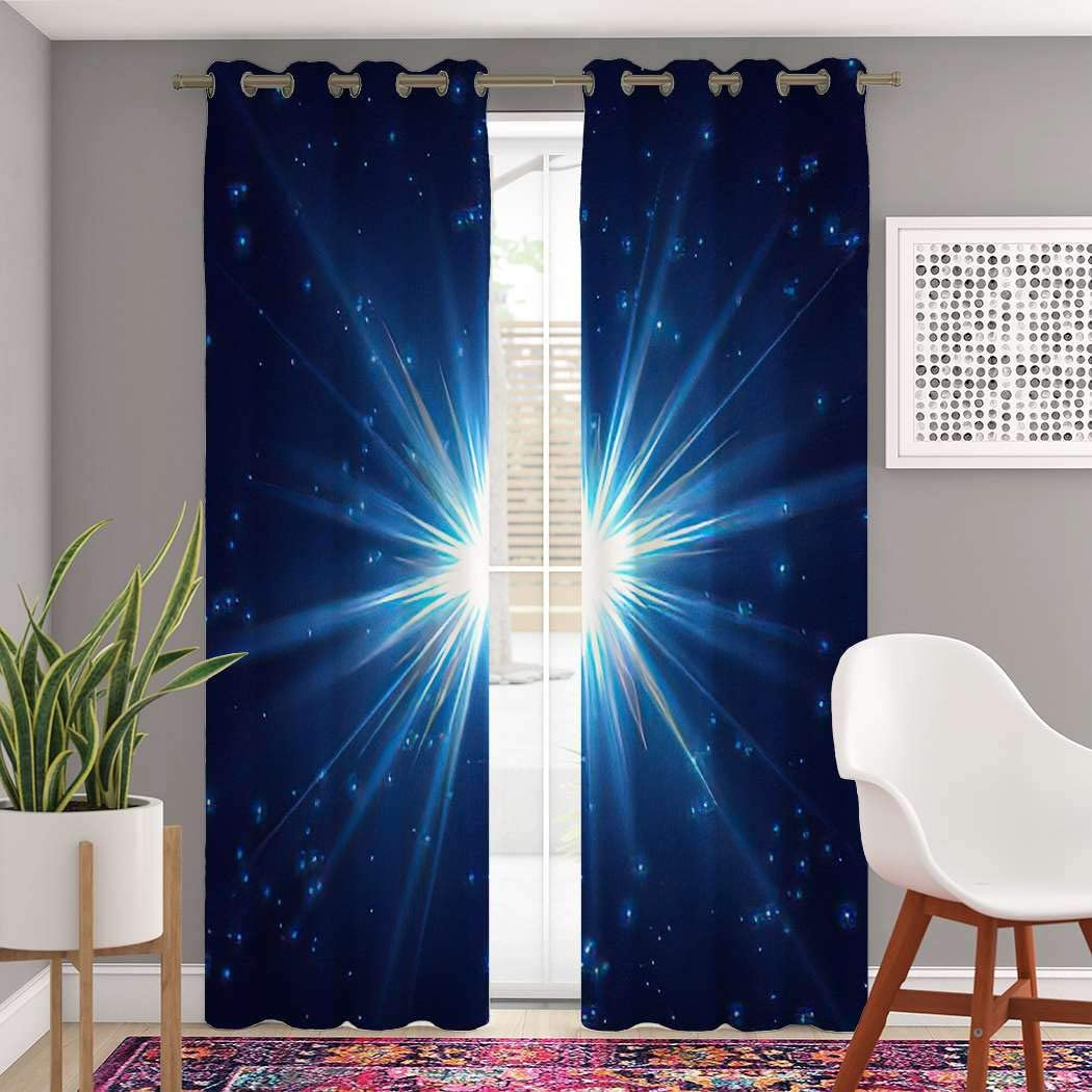 Cheap mail order specialty store Seattle Mall Atomack Blackout Grommet Curtains 96 Length Cosmic R Inch Shine