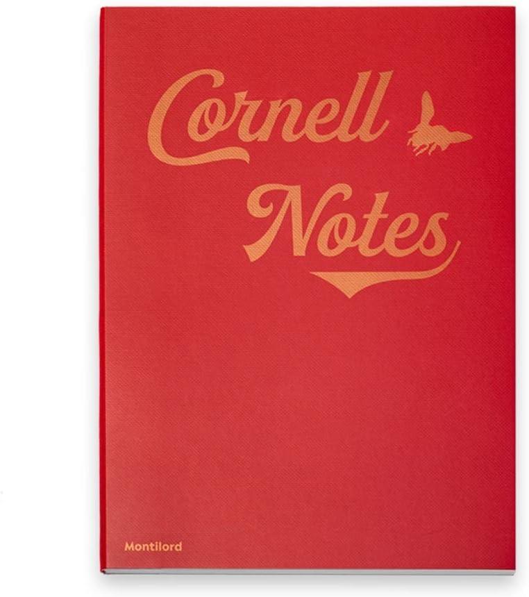 TXXM B5 5 ☆ very popular Red Cornell Horizontal Weekly update Notebook Stationery Line Thickene