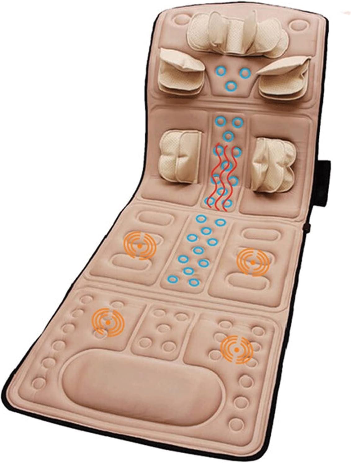 Max 59% OFF Xin Yan Boston Mall Full Body Massage Mat Heat Kne 4d with Mattress