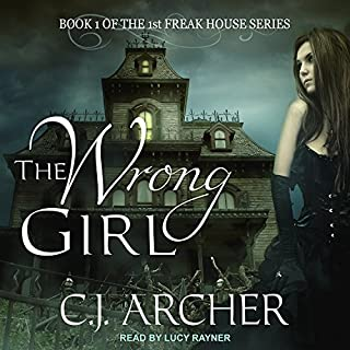 The Wrong Girl audiobook cover art