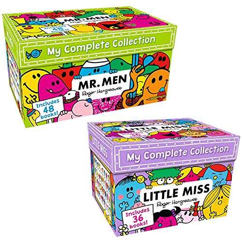 Mr Men and Little miss My Complete Collection 84 Books Box set