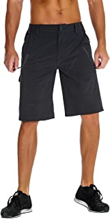 Nonwe Men's Outdoor Quick Dry Hiking Cargo Shorts