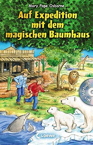 Das magische Baumhaus - Auf Expedition mit dem magischen Baumhaus: Sammelband für Mädchen und Jungen ab 8 Jahre - Mit Hörbuch-CD Im Tal der Löwen (Das magische Baumhaus - Sammelbände)