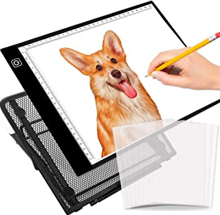 selizo A4 Tracing Light Box Tracer LED Tracing Pad Light Box Stand Tracing Paper Diamond Painting Drawing Sketching Animation