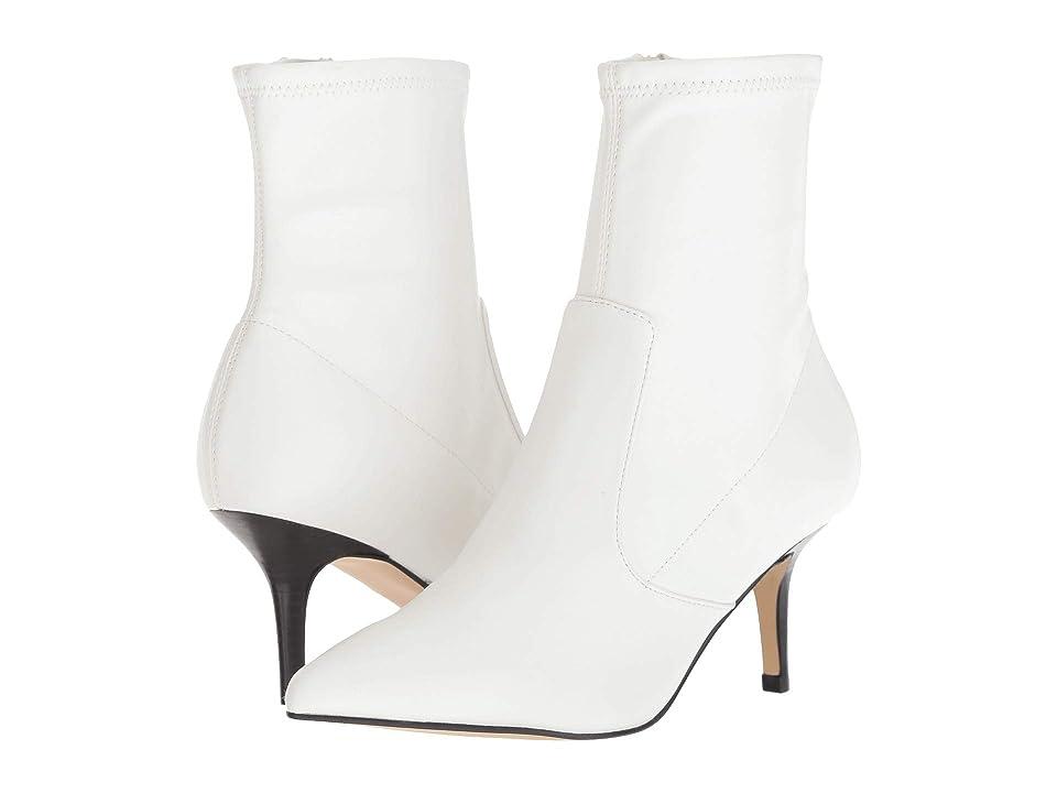 Marc Fisher Adia (White Supreme Nappa Soft PU) High Heels