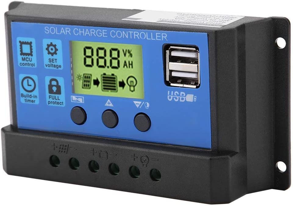 WNSC Solar Charge Controller Various Protection Albuquerque Mall Inexpensive Built-in Functi