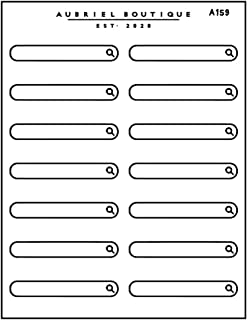 A159 - ADESIVI PER BULLET JOURNAL, planner stickers - adesivi, stickers agenda 2021, planner 2021, adesivi per agenda, scr...