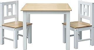 IB-Style - Meubles Enfants Luca | 3 Combinaisons |Set: 1 Table et 2 chaises Enfant - Chambre Enfant Meuble Enfant Mobilier...