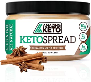 Amazing Keto Nut Butter Spread | Low Carb Keto Nut Butter Spread | Fat Bomb, Gluten Free & All Natural for Ketogenic Diet ...