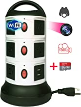WiFi Secret Babysitter Night Vision 1080p Spy Camera Hidden in Tower Outlet with 32g Memory Card, Video Recording and Remote Viewing